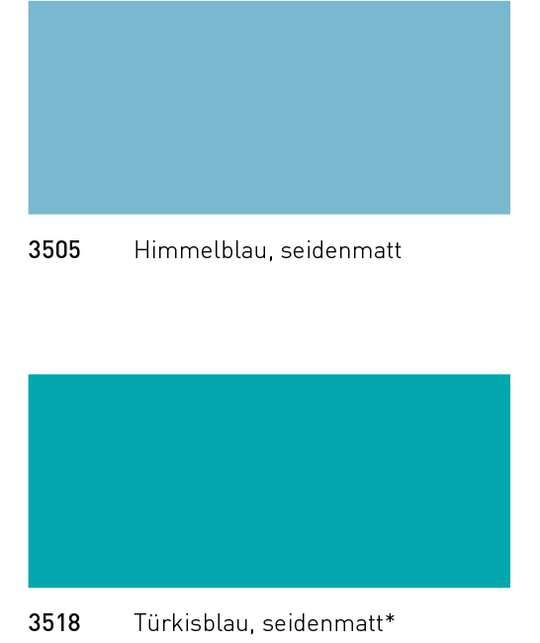 Gail Schwimmbad Keramik - Collection Special-Form buntglasiert Himmelblau